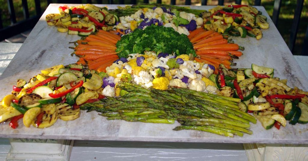 Creekside Grove Catering - veggie platter